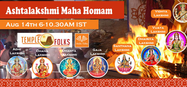 Live AshtaLakshmi Maha Homam