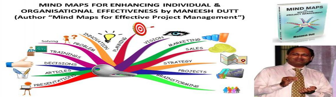Book Online Tickets for Enhancing Personal and Organisational Ef, Bengaluru. Program Objective/ Program Overview: Millions of people across the globe are adopting Mind Maps in their daily life with amazing benefits!! So what is a Mind Map? A Mind Map is a simple thinking tool which accelerates learning & creativity in in