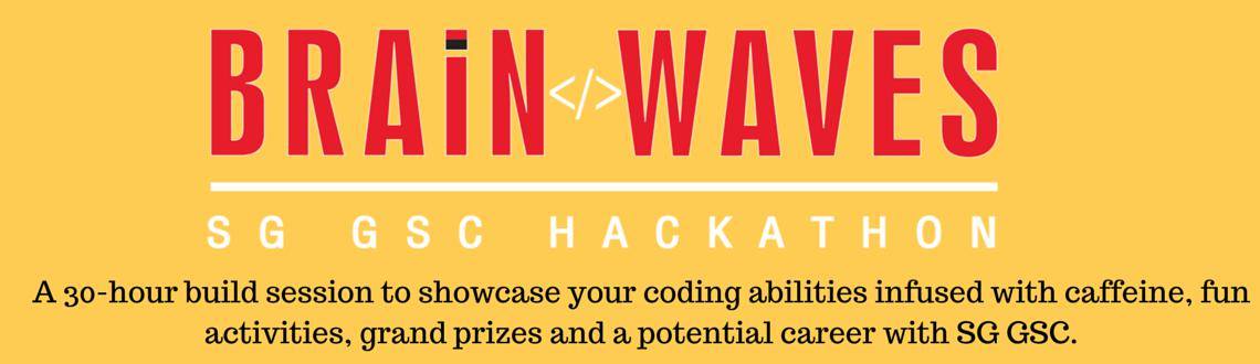 BrainWaves : A Hackathon by SG GSC