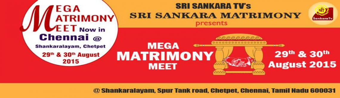 Book Online Tickets for BRAHMIN MEGA MATRIMONY MEET AT CHENNAI, Chennai. Sri Sankara Matrimony – the matrimonial vertical of Sri Sankara TV is organizing a Mega Matrimony Meet in Chennai.