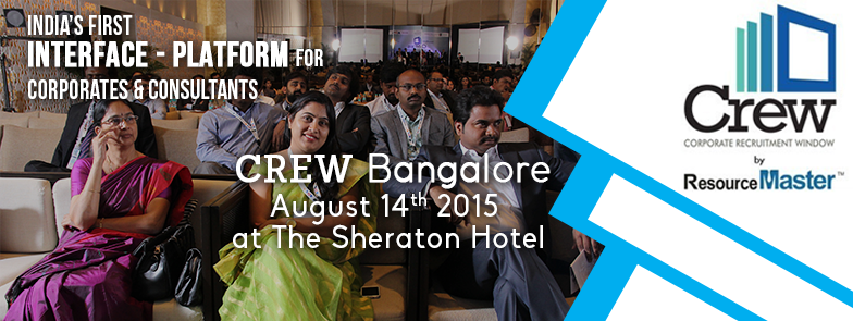 Book Online Tickets for Crew 2015 Banglore, Bengaluru. Greetings!