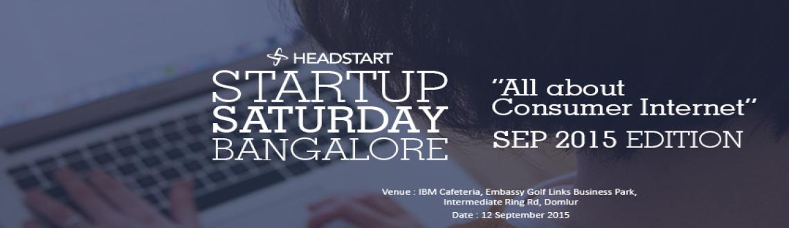 Headstart Startup Saturday Bangalore- All About Consumer Internet