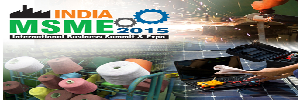 Book Online Tickets for INDIA MSME 2015 , NewDelhi. Small and Medium-sized Enterprises (SMEs) including startups and microenterprises, are the vital sector of Indian Economy. They are the driving force behind a large number of innovations and contribute to the national growth through employment genera