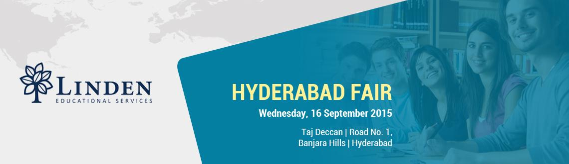 Get all information about linden us university fair in Hyderabad higher education, Taj Deccan Road No. 1. Book your free tickets at MeraEvents