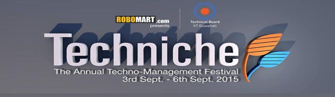 Book Online Tickets for Techniche-Annual Techno-Managment Festiv, Guwahati. Event Location: IIT Guwahati India 781039