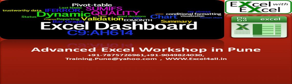 Advanced Excel Workshop on Weekend in Pune