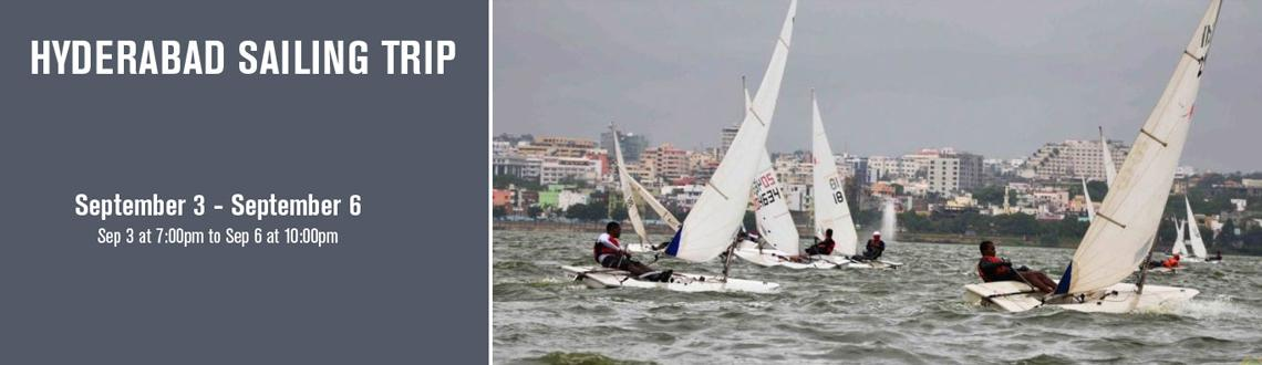 Book Online Tickets for Hyderabad Sailing Trip , Hyderabad. Sail Hussain Sagar Lake sailing is technical, because one has to make frequent changes of direction and because wind conditions typically fluctuate more than off shore, so many of the world's best sailors grew up sailing lakes. In association w