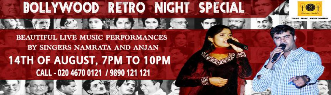 Live-music event- Bollywood retro night at 121 Kitchen : BarBQ, Wakad