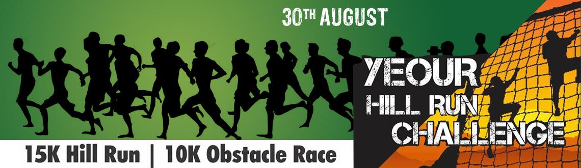 Book Online Tickets for Yeour Hill Run Challenge, Mumbai.  