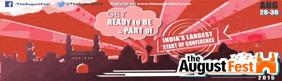 Book Online Tickets for August Fest - Startup Expo, Hyderabad. These tickets are for the exhibitors (Dempods/2x2 Stalls) @ The August Fest ! Please do not pay unless you get a mail from us. If you are a social organization and cannot pay for the Demo Pod/Stall ! Please send us an email to celebrate@theaugustfest