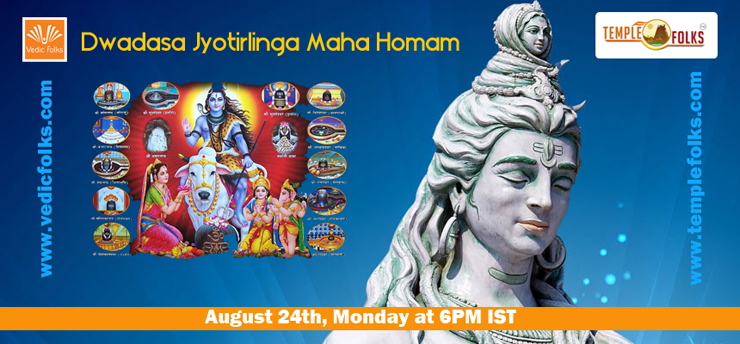 Book Online Tickets for Live Dwadasa Jyotirlinga Maha Homam , Chennai. 