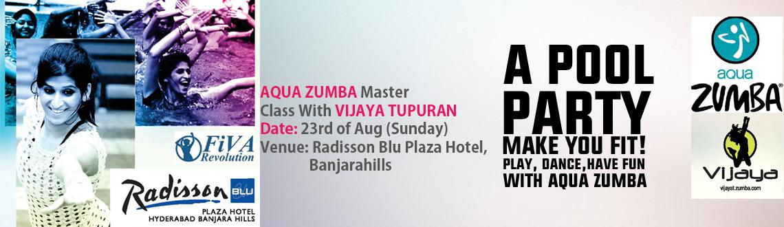 Aqua Zumba Pool Party With VIJAYA TUPURANI