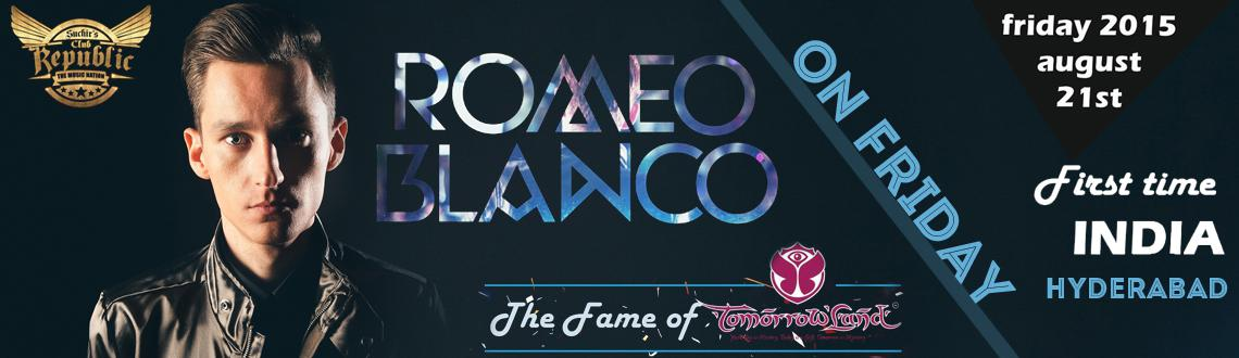 Romeo Blanco Live on Friday Night