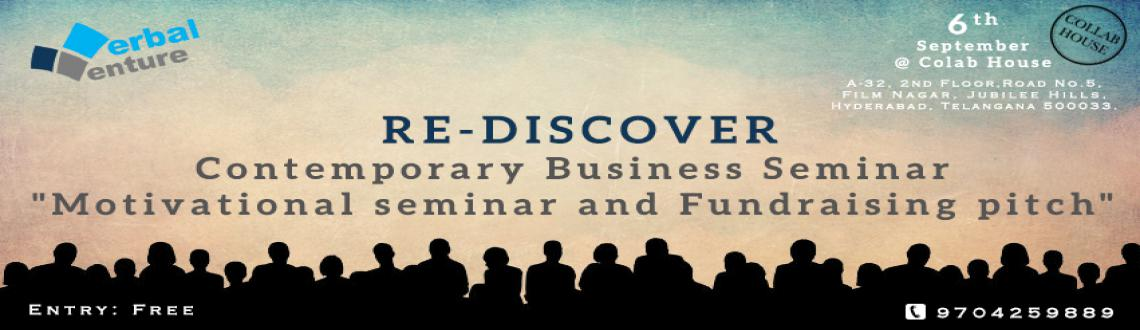 RE-DISCOVER - Business Motivational Seminar