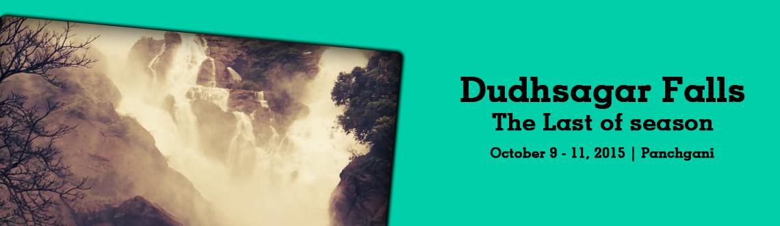 Dudhsagar Falls- the Last of season