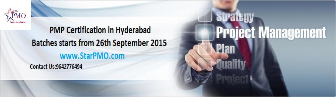 PMP Certification Training in Hyderabad Batches Starts From 26th September 2015 @StarPMO