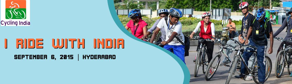 Book Online Tickets for I Ride With India, Hyderabad. Hyderabad Bicycling Club invites you to ride with India. Route Map: Gachibowli Bike Station: