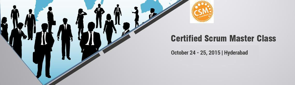 Certified Scrum Master Workshop; Hyderabad-Oct2425