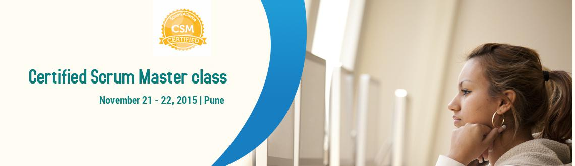 Certified Scrum Master Workshop; Pune Nov 21-22