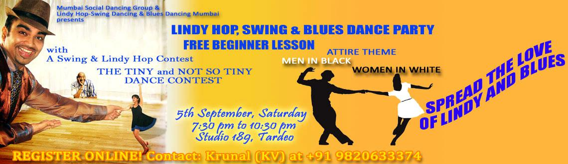 FREE BEGINNER LESSON with Swing, Lindy Hop and Blues dance party