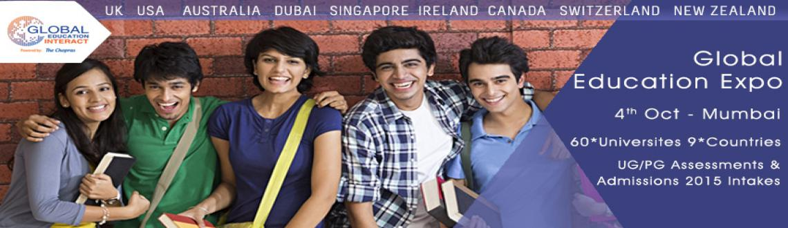 Book Online Tickets for The Chopras - Indias Leading Internation, Mumbai. The Chopras are organizing The Global Education Interact in OCT, 2015. It is a fair, but with a difference. The Global Education fair has always proved to be an idyllic platform for both the students & parents and university experts coming from a