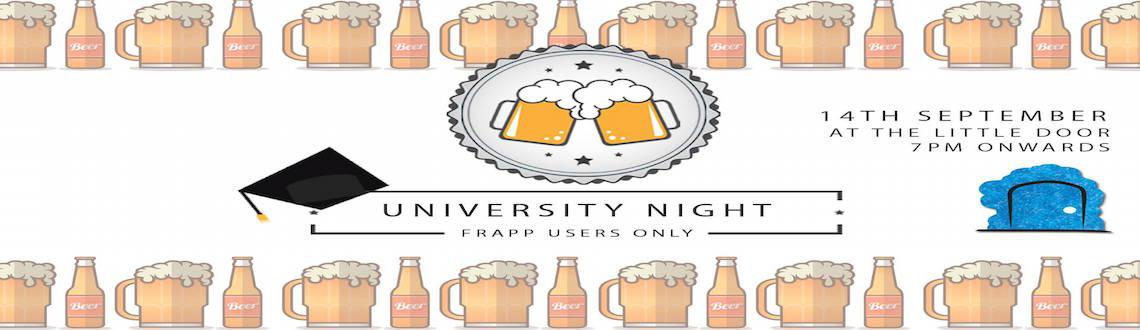 University Night by frapp