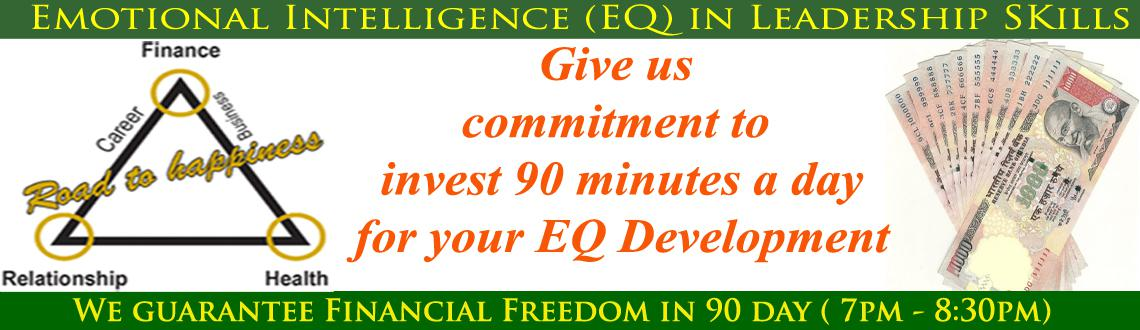Book Online Tickets for Emotional Intelligence (EQ) in Leadershi, Hyderabad. The future belongs to the managers and business leaders whose actions are built on Emotional Intelligence (EQ). 