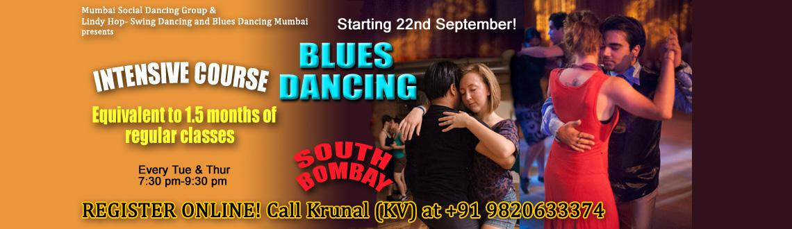 South Mumbai Blues dancing (Beginner and Improver level) Intensive course