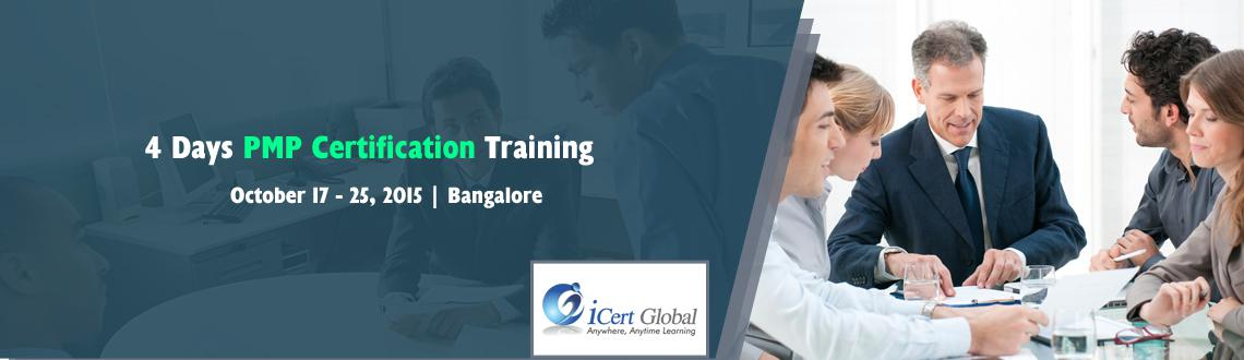 Book Online Tickets for 4 Days PMP Certification Training Worksh, Bengaluru. PMP Certification Training Classroom Course with 100% MoneyBack Assurance at Bangalore, IN-iCert Global | PMP Certification Training Workshop Bangalore, IN | PMP Classroom Training Workshop Courses with 100% Money Back Assurance at Bangalore, IN | PM