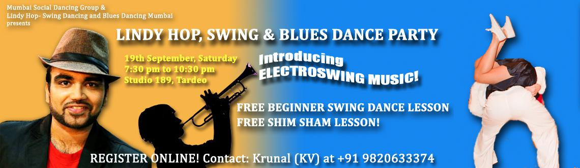 FREE BEGINNER LESSONS with Swing, Lindy Hop and Blues dance party