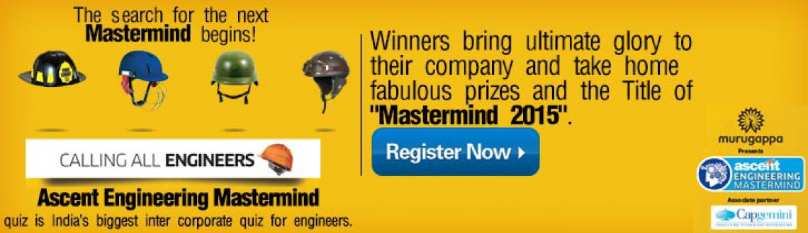 Book Online Tickets for Engineering Master Mind Quiz, Mumbai. 