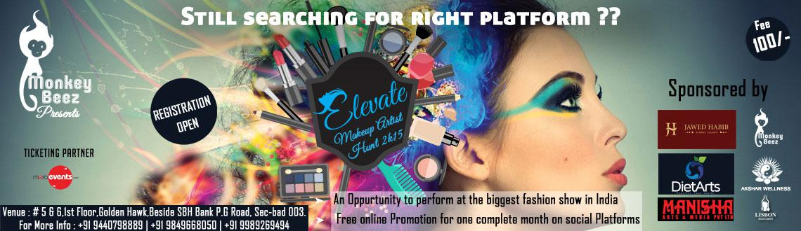 Elevate Makeup Artist Hunt 2015