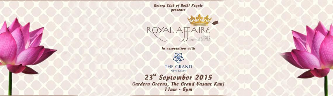 Royal Affaire  A fund-raiser for Charity
