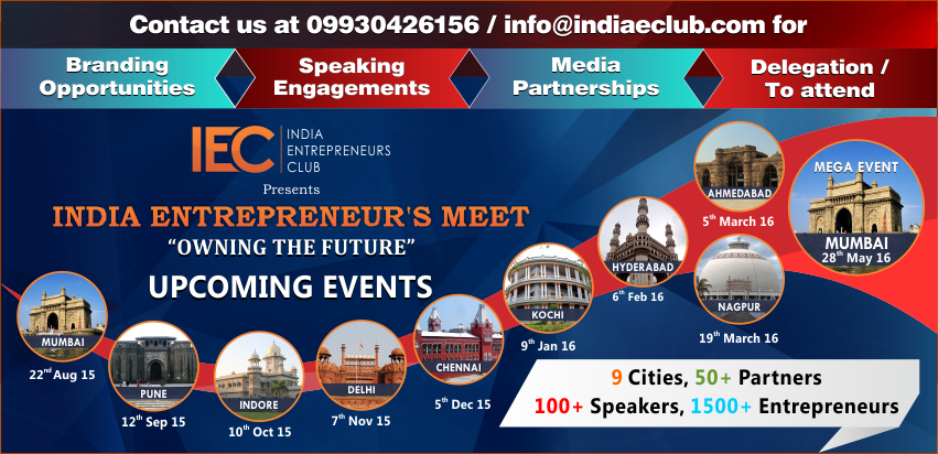 Book Online Tickets for Indore Entrpreneurs meet, Indore. After a successful 1st Year of Pune Entrepreneur\\'s Meet, we are back once again here to share knowledge, inviting Aspiring, startups, and mid level Entrepreneurs to attend.Learn, Network and Collaborate.