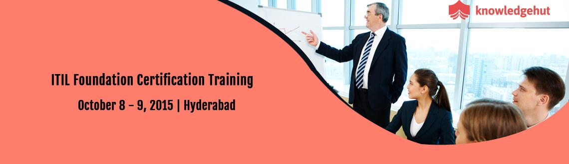 ITIL Foundation Certification Training in Hyderabad