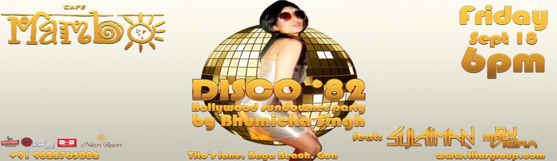 Bollywood Sundowner By Bhumicka Singh Disco 82