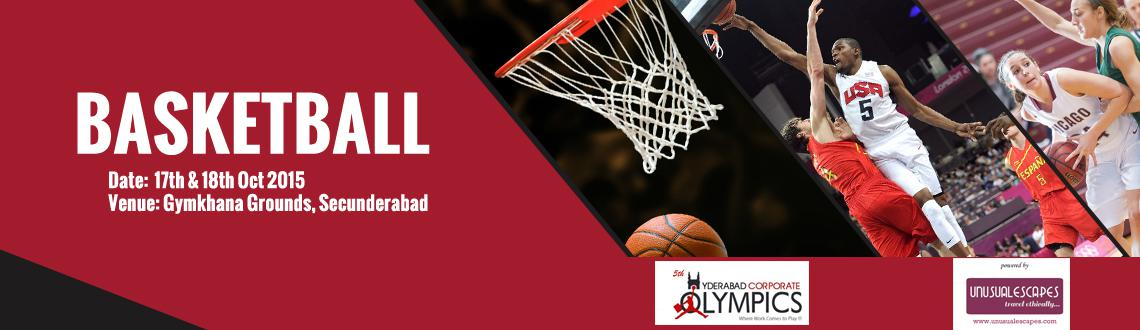 5th Hyderabad Corporate Olympics (Basketball)