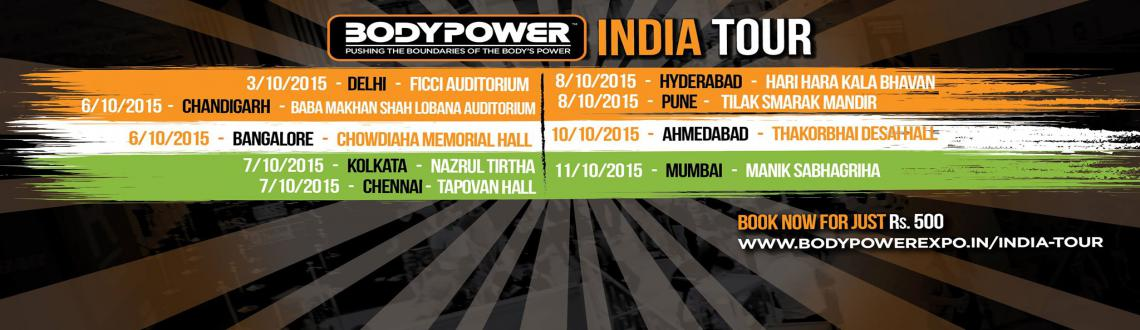 Book Online Tickets for Body Power India tour (Banglore) , Bengaluru. Bodypower Expo India -is Asia's Largest Health and Fitness Exhibition and its proposed to attract around 35,000 visitors in 2016!! Offering Bigger and Better Business, through partnerships and media of millions of consumers