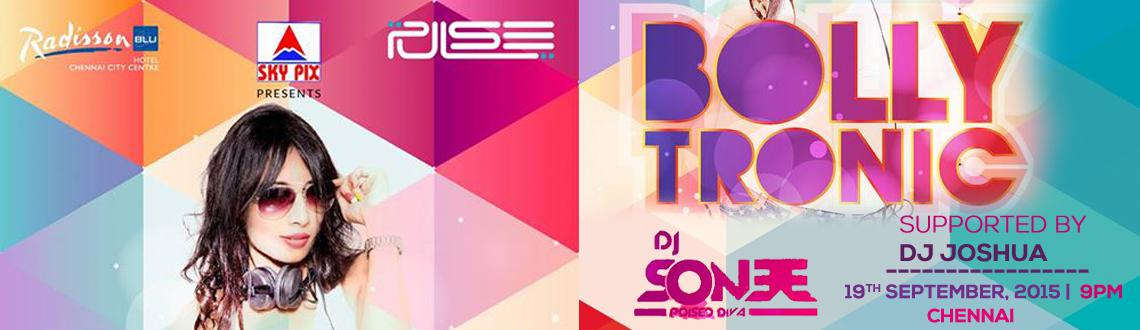SKY PIX PRESENTS BOLLYTRONIC BY DJ SONEE MUMBAI  DJ JOSWA