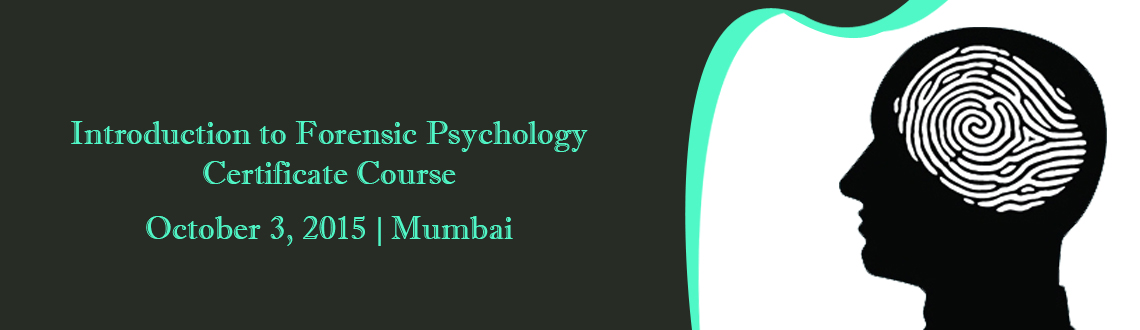 Book Online Tickets for  Introduction to Forensic Psychology - C, Mumbai. Certificate issued by @Indian Forensic OrganizationAn introduction to the key elements of forensic psychology, including causes of criminal behaviour, different types of crime, psychology and the courtroom, offender profiling, and the management and