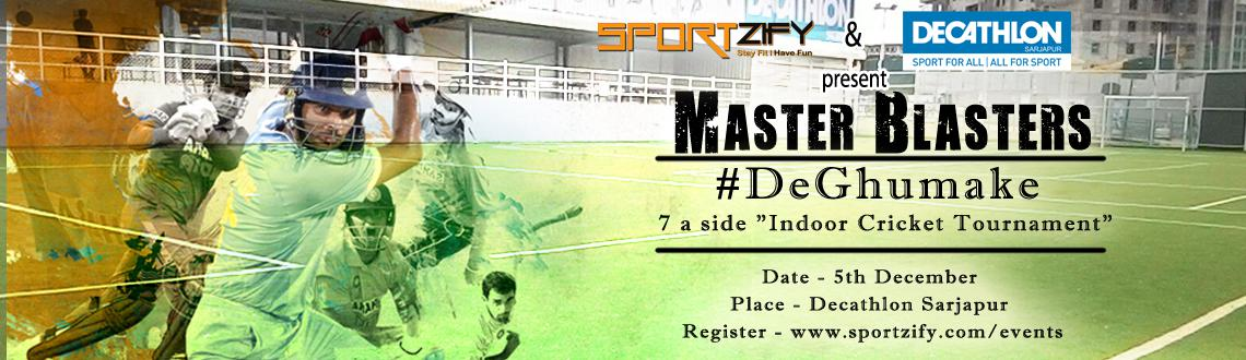 Book Online Tickets for Master Blasters - 7 a side Indoor Cricke, Bengaluru. 