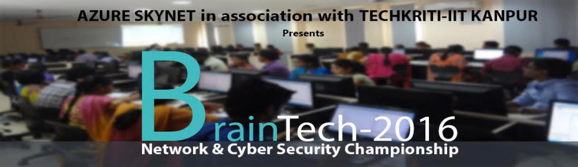 Book Online Tickets for BrainTech Network and Cyber Security Cha, Nagpur. Techkriti-IIT Kanpur in association with Azure Skynet is organizing the zonal round of BrainTechTech Network and Cyber Security Championship at Yeshwantrao Chavan College of Engineering, Nagpur in the form of Two-Days Worksho