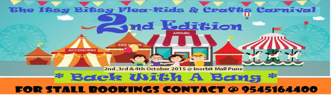 The Itsy Bitsy Flea - Kids  Crafts Carnival 2nd Edition