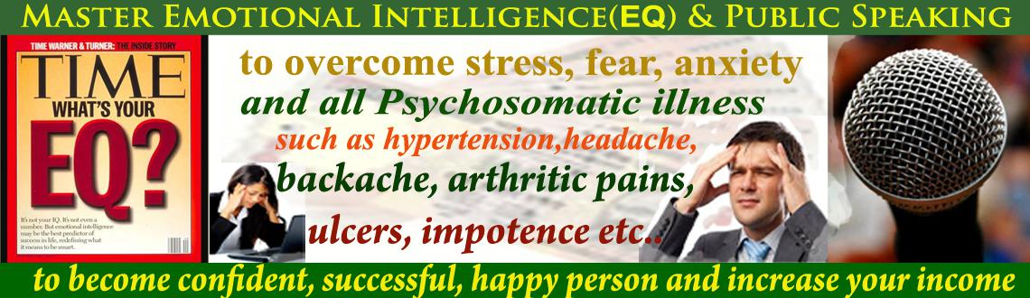 Book Online Tickets for Free session on Emotional Intelligence (, Hyderabad. The future belongs to the people who are strong on Emotional Intelligence (EQ)with core values.