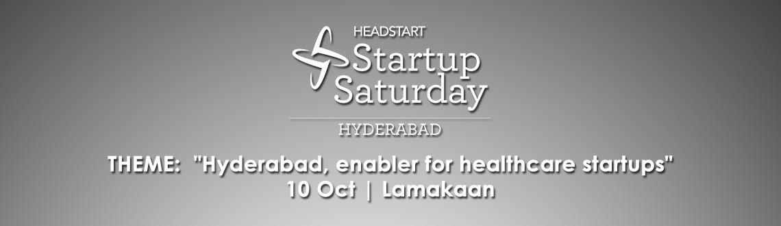 Headstart Startup Saturday Hyderabad - October 2015