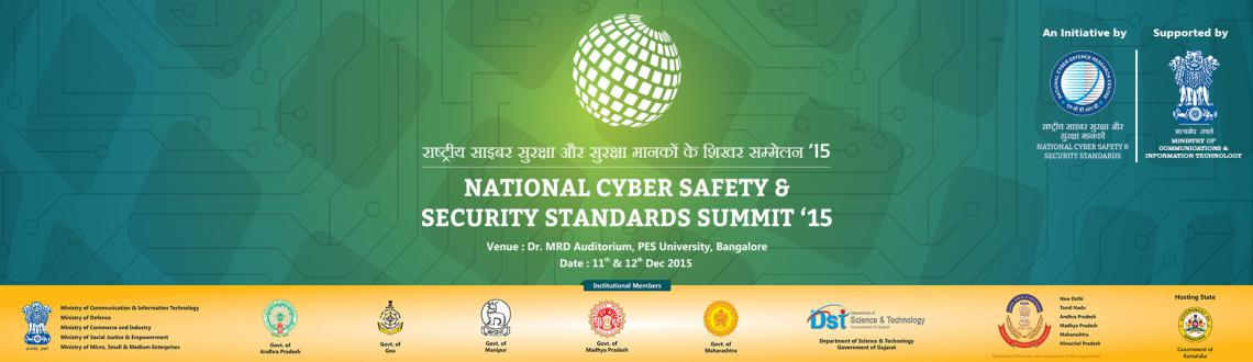 The biggest Cyber Security Summit is back 11th  12th of December, 2015 at Bangalore. Block your seat. Register Now @ www.summit.ncdrc.res.in