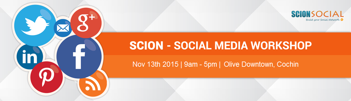 Social Media Workshop COCHIN - 13th November 2015