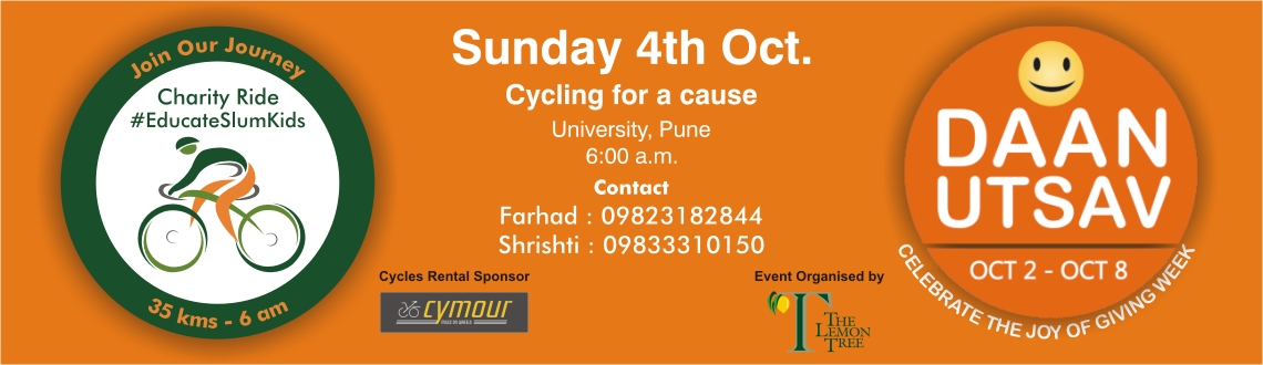 Daan Utsav Charity Ride