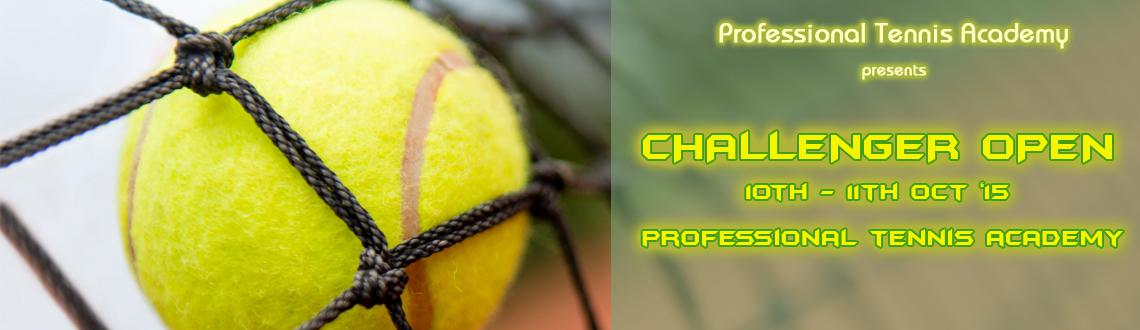 Book Online Tickets for Challenger Open , Hyderabad. Challenger Open 2015 Proffesional Tennis Academy @ manikonda  Looking for Corporate Special Early Bird Disscount contact Sami : 7893234949