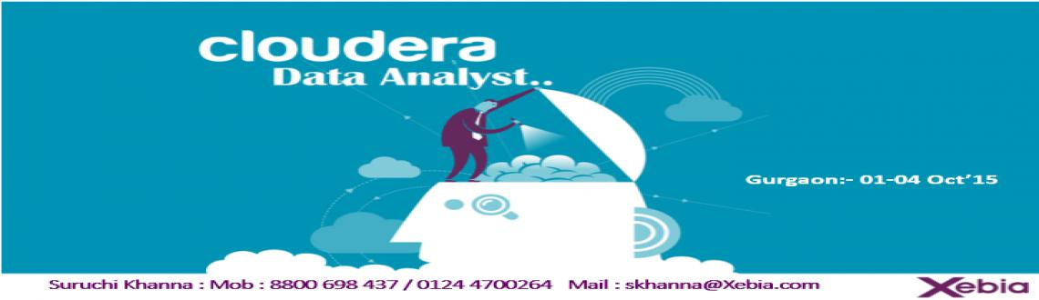 Cloudera Data Analyst Training l Gurgaon | 01-04 Oct 2015
